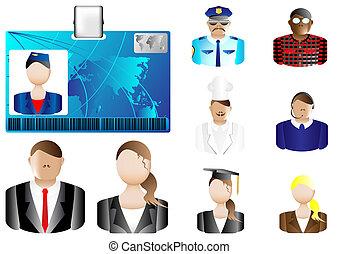identifikation card