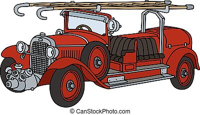 ild, vinhøst, lastbil