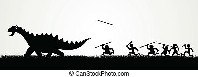 jagt, dinosaurus