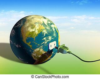 jord, energi