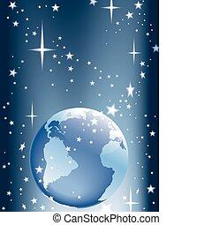 jord, stjerner