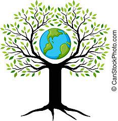jord, træ