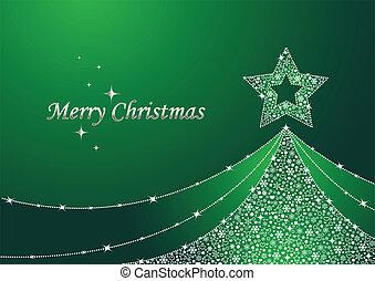 jul, grønnes træ