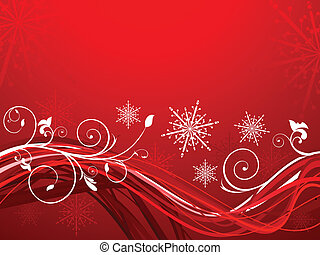 jul, kunstneriske, abstrakt