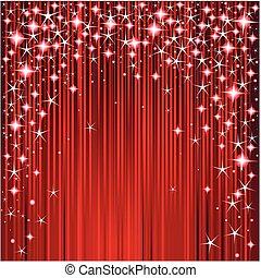 jul, stjerner stribe, konstruktion