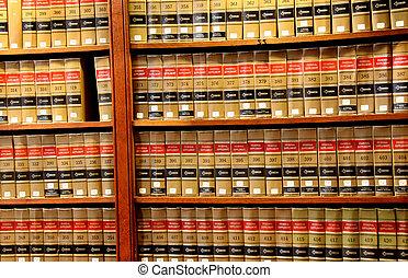 juridisk bog, bibliotek