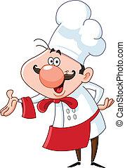 køkkenchef, kammeratlig
