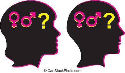 køn, seksualitet, -, menneske
