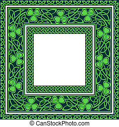 keltisk, editable, kanter