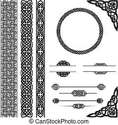 keltisk stiliser, prydelser