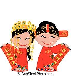 kinesisk, bryllup