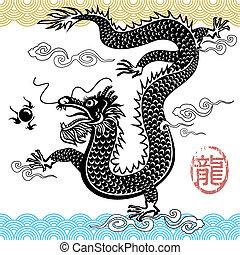 kinesisk drage, traditionelle
