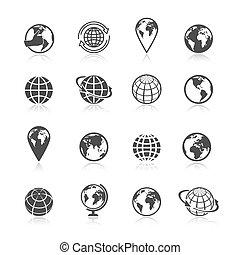 klode jord, iconerne