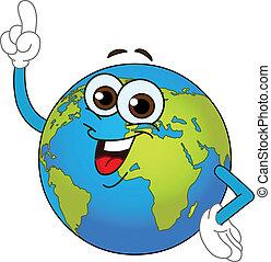 klode verden, cartoon