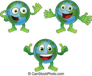 klode verden, karakter, cartoon