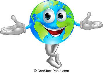 klode verden, mascot, mand