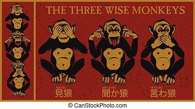klog, tre, aber