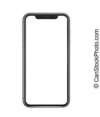 konstruktion, baggrund, 2021:, smartphone, /, 20, iphone, sort, marts, moskva, rusland, skærm, hvid, professionel, -, 11