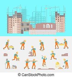 konstruktion, illustration