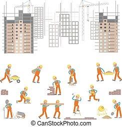 konstruktion site, illustration
