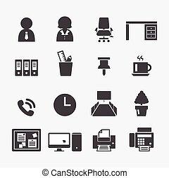 kontor, ikon