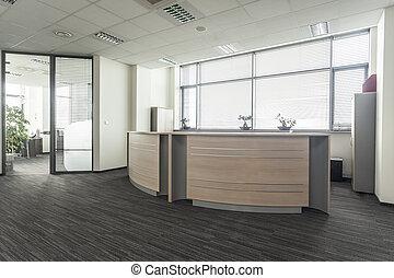 kontor, modtagelse