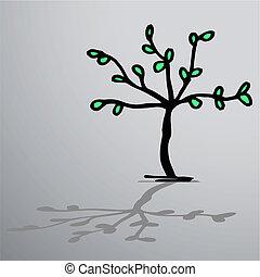 kunst, træ