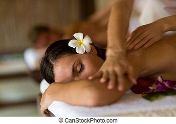 kurbad, massage