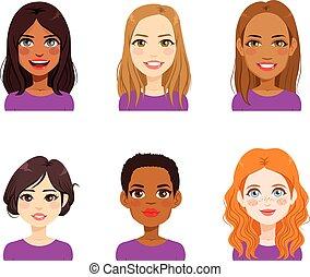 kvinde, miscellaneous, avatar, zeseed