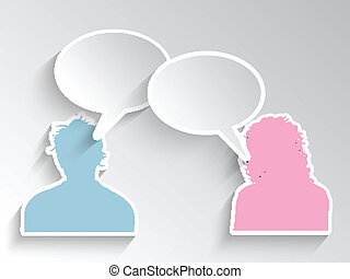 kvindelig, mandlig, avatars