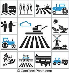 landbrug, iconerne