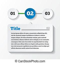 lastning, paper., tre, foranstaltninger, infographics, konstruktion
