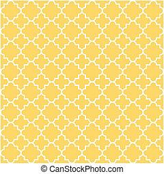lattice, quatrefoil, mønster
