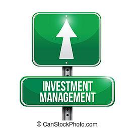 ledelse, investering, vej underskriv