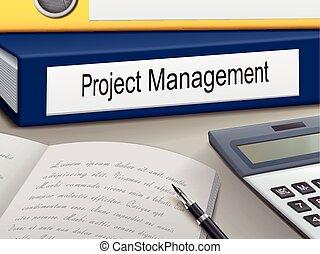 ledelse, projekt, bind