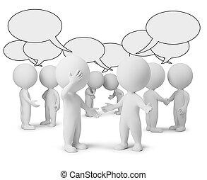 lille, diskussion, 3, -, folk