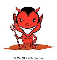 lille, djævel