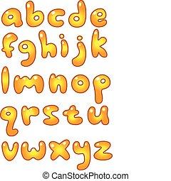 lille, gylden, breve