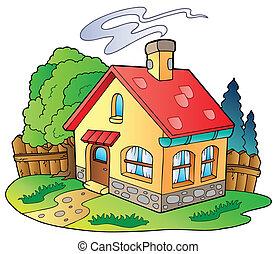 lille hus, familie