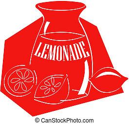 limonade, kunst, hæfte