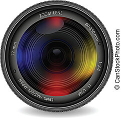 linser, fotografi, lukker, kamera