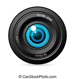 linser, kamera, øje