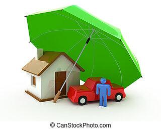 liv, hjem, forsikring, automobil