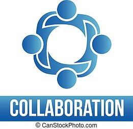 lo, 4, gruppe, collaboration., folk