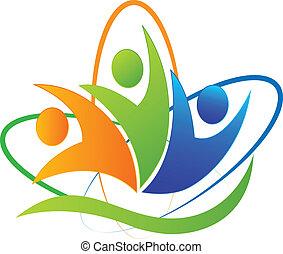 logo, app, glade, held, folk