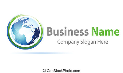 logo, globale