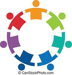 logo, image, cirkel, 7, hold