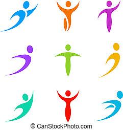 logo, sport, firma