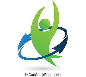 logo, sundhed, natur