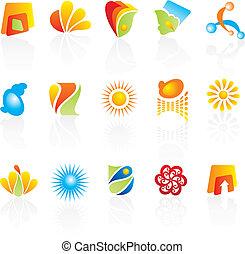 logos, selskab, konstruktion